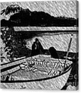 Turr Hunt Sketch Canvas Print
