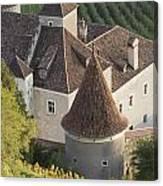 Turrets Schloss Goldrain Canvas Print