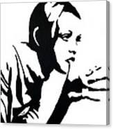 Twiggy Canvas Print