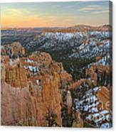 Twilight At Bryce Canvas Print