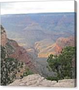Twilight At Grand Canyon Canvas Print