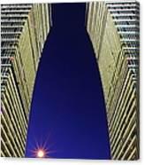 Twin Building Canvas Print