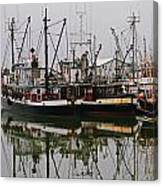 Twin Fishing Boats Canvas Print