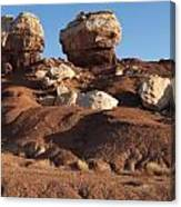 Twin Rocks Capitol Reef Np Canvas Print