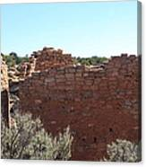 Twin Towers At Hovenweep Canvas Print