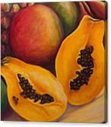Twins Crop Canvas Print