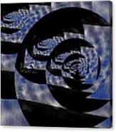 Twirlig Shine Canvas Print