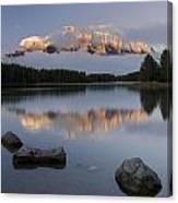 Two Jack Lake, Banff National Park Canvas Print