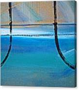 Two Kimono Tsunami Canvas Print