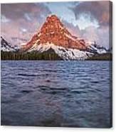 Two Medicine Lake Panorama Canvas Print
