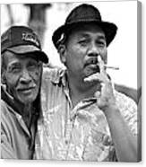 Two Men In Ubud Canvas Print