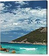 Two Peoples Bay Panorama Canvas Print