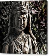 Two Sides Of Buddha Canvas Print