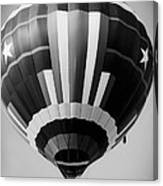 Two Star Balloon Canvas Print