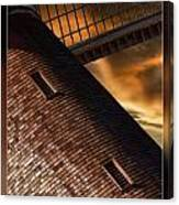 Two Window Mill Canvas Print