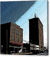 Twohig Street Canvas Print