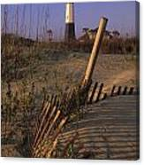 Tybee Island Lighthouse - Fs000812 Canvas Print