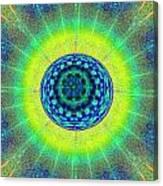 Tye Dye Eyeball Canvas Print