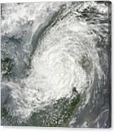 Typhoon Haikui Makes Landfall Canvas Print
