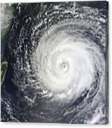 Typhoon Muifa East Of Taiwan Canvas Print