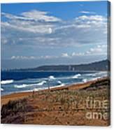 Typical Australian Beach Canvas Print