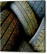 Tyres Canvas Print