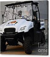 Uc Berkeley Campus Police Buggy  . 7d10184 Canvas Print