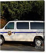 Uc Berkeley Campus Police Van  . 7d10180 Canvas Print