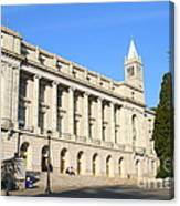 Uc Berkeley . Sather Tower Campanile . Wheeler Hall . South Hall Built 1873 . 7d10043 Canvas Print