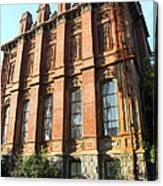 Uc Berkeley . South Hall . Oldest Building At Uc Berkeley . Built 1873 . 7d10108 Canvas Print