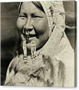 Ugiyaku Of The Nunivak Canvas Print