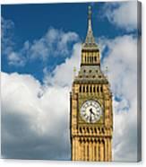 Uk, England, London, Big Ben Canvas Print
