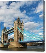 Uk, England, London, Tower Bridge Canvas Print