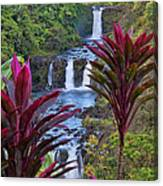 Umauma Falls Big Island Hawaii Canvas Print