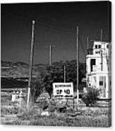 Un Observation Post Manned By Argentinian Troops Argcon Op 40 In The Buffer Zone Cyprus Canvas Print