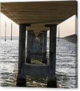 Under Seven Mile Bridge Canvas Print