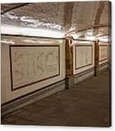 Under Southwark Bridge Canvas Print