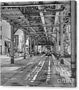 Under Wabash Avenue Canvas Print