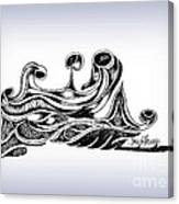 Undercurrents Canvas Print