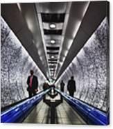 Underground Network Canvas Print
