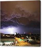 Underside Of The Storm Canvas Print