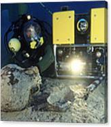 Underwater Archaeology Canvas Print