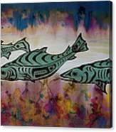 Underwater Color Canvas Print
