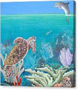 Underwater Glory Canvas Print