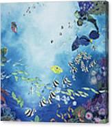 Underwater World IIi Canvas Print