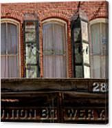 Union Brewery Virginia City Nv Canvas Print