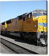 Union Pacific Locomotive Trains . 5d18820 Canvas Print
