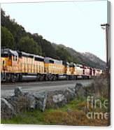 Union Pacific Locomotive Trains . 7d10564 Canvas Print