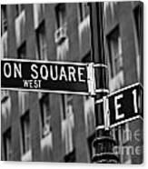 Union Square West Canvas Print