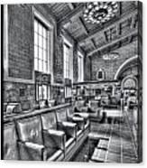 Union Station L.a. Seats 1 Canvas Print
